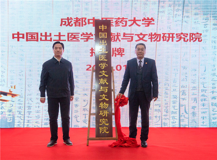 成都中医药大学中国出土医学文献与文物研究院成立