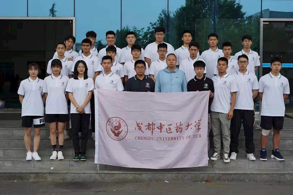 成都中医药大学散打队在2021年四川省学生武术散打公开赛上喜获佳绩
